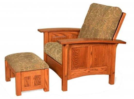 Panel Mission Morris Chair