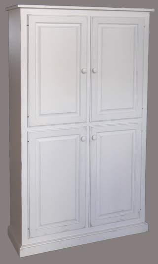 4 door wide pantry cupboard. Black Bedroom Furniture Sets. Home Design Ideas
