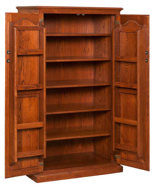 Pantry Cupboard With Spice Doors
