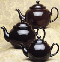 Brown Betty teapots: Click to Zoom